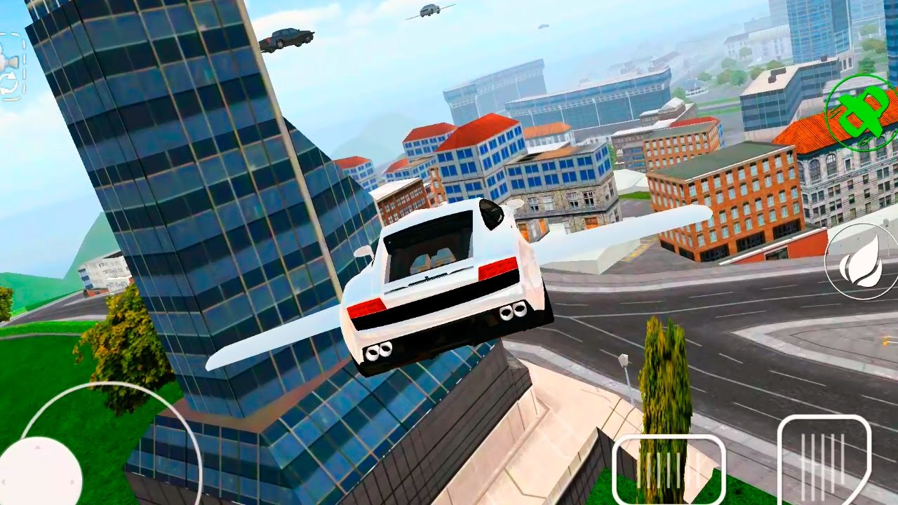 Flying Car Simulator Android Gameplay Fullhd Youtube