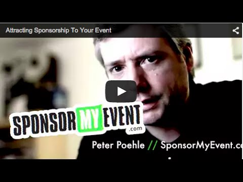 How To Attract Sponsorship To Your Events