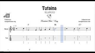 Tutaina Partitura Tablatura de Banjo Villancico