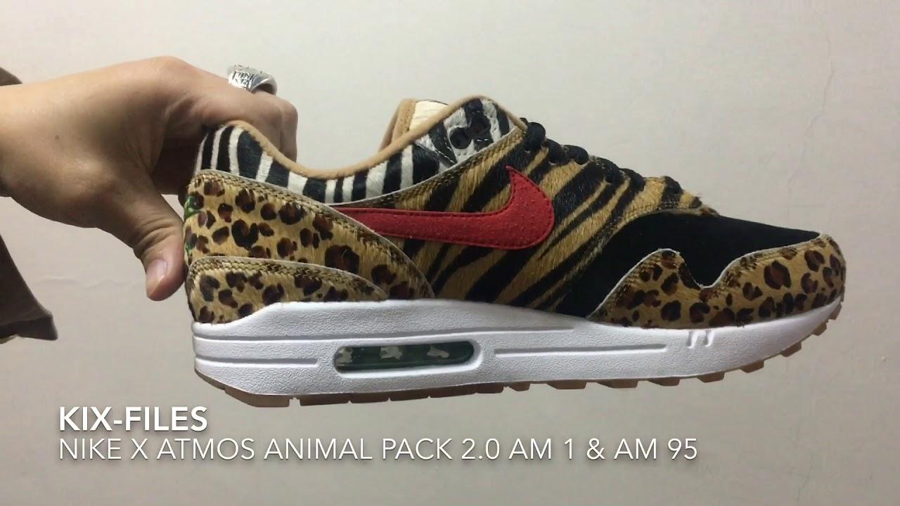 hot sale online edea7 81621 Details check   Nike x atmos Animal Pack 2.0 AM 1   AM 95