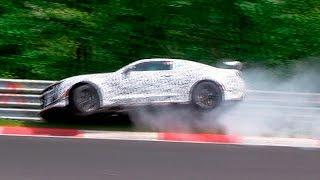 WATCH: Chevrolet Camaro Z28 Mule Crash on Nürburgring