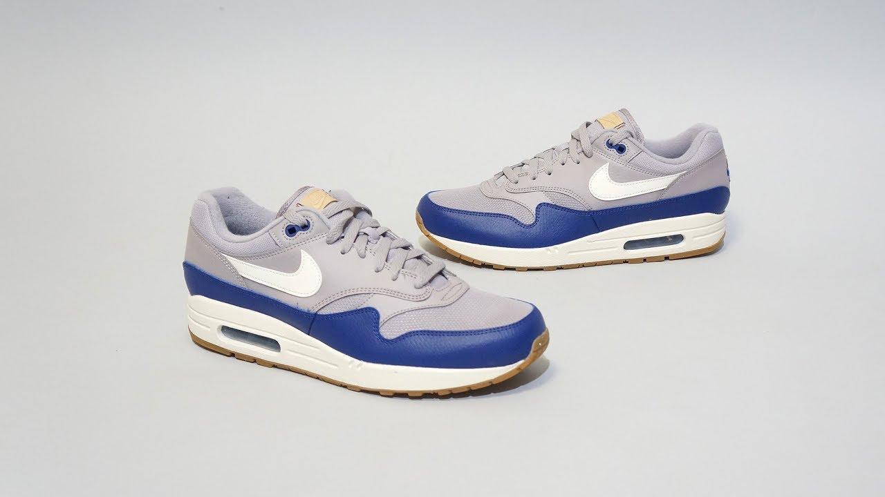get online pre order various colors Nike Air Max 1 Grey Blue AH8145-008