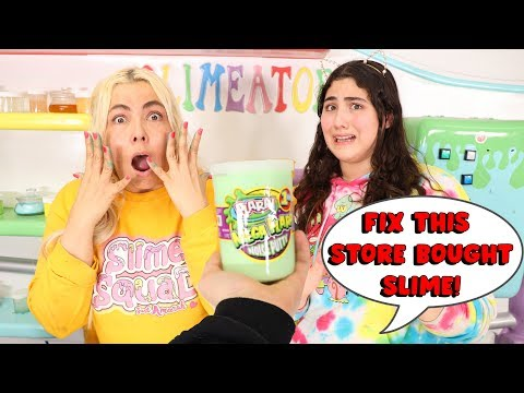 FIX THIS STORE BOUGHT SLIME CHALLENGE! Slimeatory #597 thumbnail