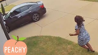 CAUGHT IN THE ACT  Funniest Security Camera Fails