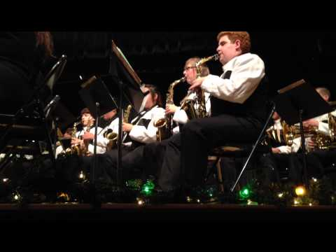 R Nelson Snider High School Concert Band - Christmas Concert - 12.17.2012 video 2 of 3
