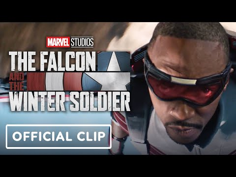 The Falcon and the Winter Soldier - Official Canyon Battle Clip (2021) Anthony Mackie
