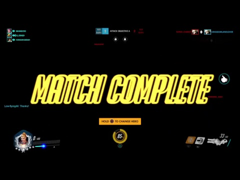 (Overwatch) Cant lose GM! Live! S5