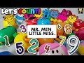Learning To Count With Mr. Men Little Miss Toys