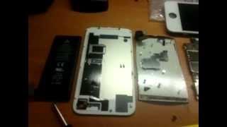 Как разобрать iPhone 4S(