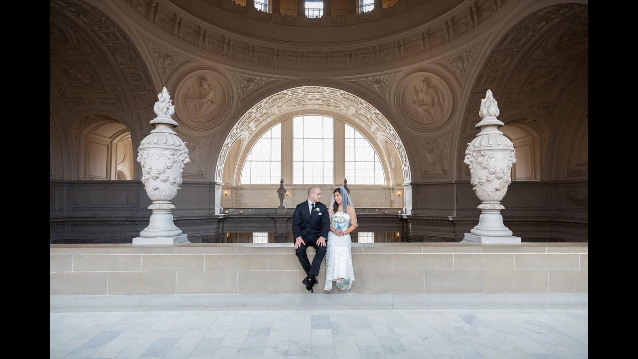 Elegant Wedding In San Francisco City Hall CA