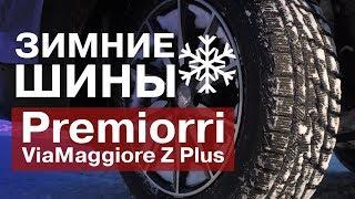 Обзор зимних шин Premiorri ViaMaggiore Z Plus