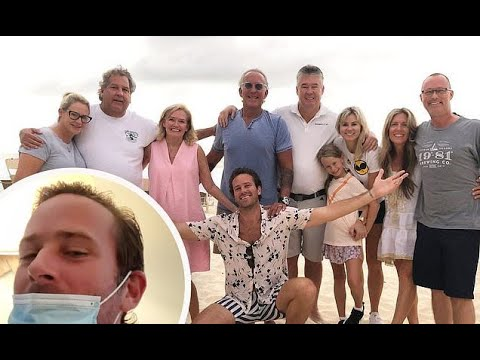 Armie Hammer's estranged wife and kids said good-bye at airport ...