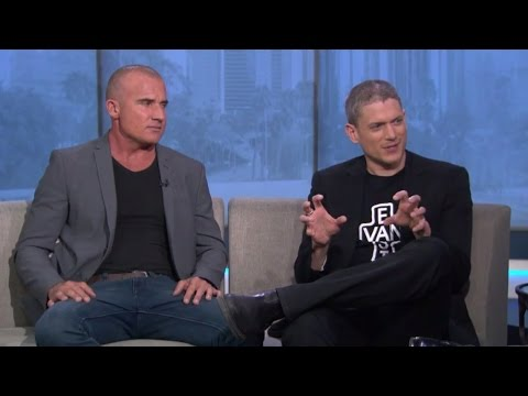Wentworth Miller & Dominic Purcell on Good Day LA