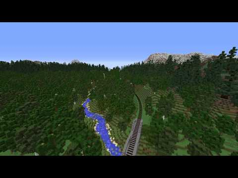 [Immersive Railroading] Freight Train Through Mountains