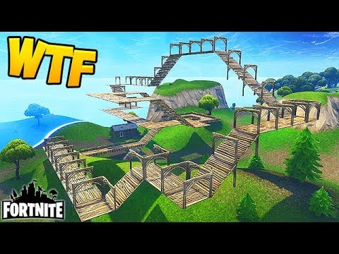 Craziest Shopping Cart Track Fortnite Funny Fails And Wtf Moments