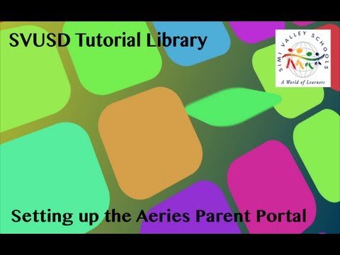 Aeries Parent Portal Setup