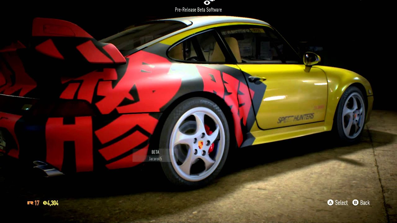 need for speed 2015 porsche 911 carrera s customization. Black Bedroom Furniture Sets. Home Design Ideas