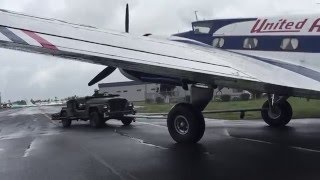 The Boeing 247D Limbers Up