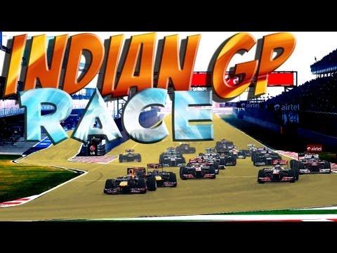 F1 2013 - Grand Prix d'Inde New Delhi - Course - Saison 2