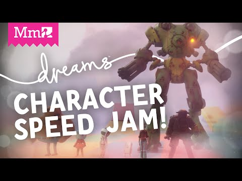 Dreams PS4 - Speedy Character Creation! | Live Stream