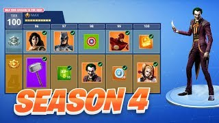 FORTNITE SEASON 4 SUPERHERO SKINS!