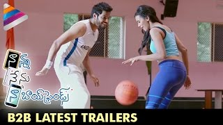 Nanna Nenu Naa Boyfriends Movie Back 2 Back Latest Trailers  Hebah Patel  Telugu Filmnagar