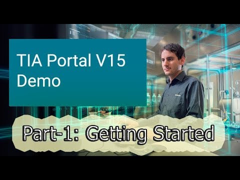 TIA PORTAL V15 || Part-1 : Create and simulate a Project