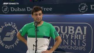 Aslan Karatsev - Post-Match Interview - Final - 2021 Dubai Duty Free Tennis Championships