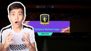OMG!!! MY GOLD 1 FUT CHAMPIONS WEEKLY REWARDS!!! FIFA 21
