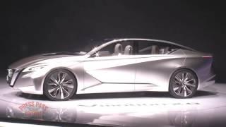 Nissan Press Conference at 2017 Detroit Auto Show