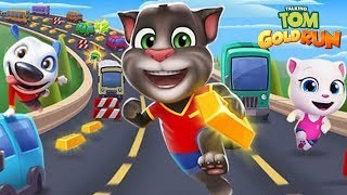 Talking Tom Gold Run - Outfit7 Limited Ginger's Farm Day 10 Walkthrough   Classic Shots