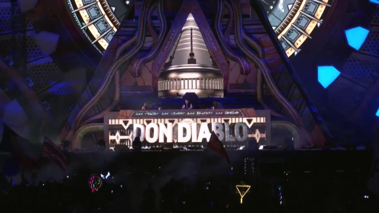 Don Diablo  EDC Las Vegas 2018 ile ilgili görsel sonucu