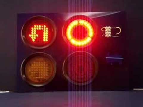 tractor trailer wiring led lights tractor trailer led lights - youtube