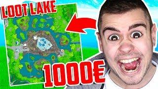 WER zuletzt LOOT LAKE verlässt bekommt 1000€ in Fortnite ..