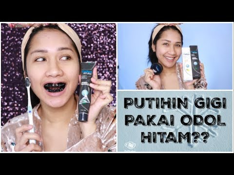 Odol Hitam Bikin Gigi Putih Nyobain Carbon Republic Speed Teeth