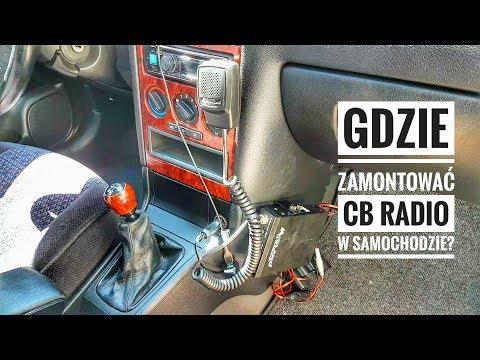 Gdzie zamontować CB Radio w samochodzie?