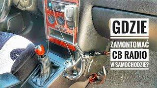 Montaż CB Radia w samochodzie Opel Astra G | ForumWiedzy