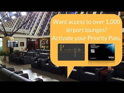 The most underrated Chase Sapphire Reserve benefit: Priority Pass (access to airport lounges)