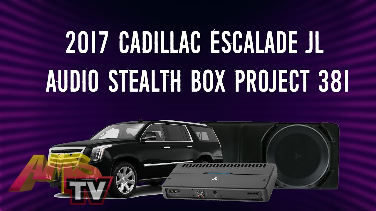 2015 to 2018 GMC Yukon Subwoofer Enclosure Center console Hidden Box and XL