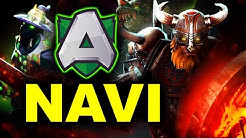 NAVI vs ALLIANCE - EL CLASSICO - WePlay! Pushka League DOTA 2