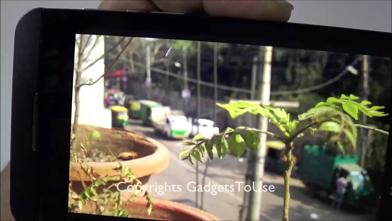 Blackberry Z10 Camera Review with Photo and Video Sample