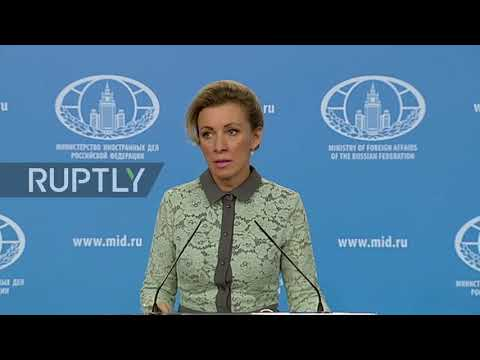 Russia: US presence in Syria 'resembles occupation' - Zakharova