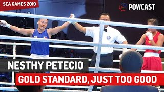 Nesthy Petecio SEA Games Gold | Outclassed Her Myanmar Opponent |  SEA Games Boxing Vlog