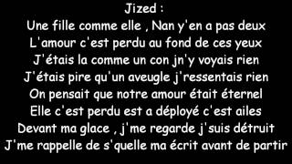 Amour Perdu Jized feat Aurélie [PAROLES]