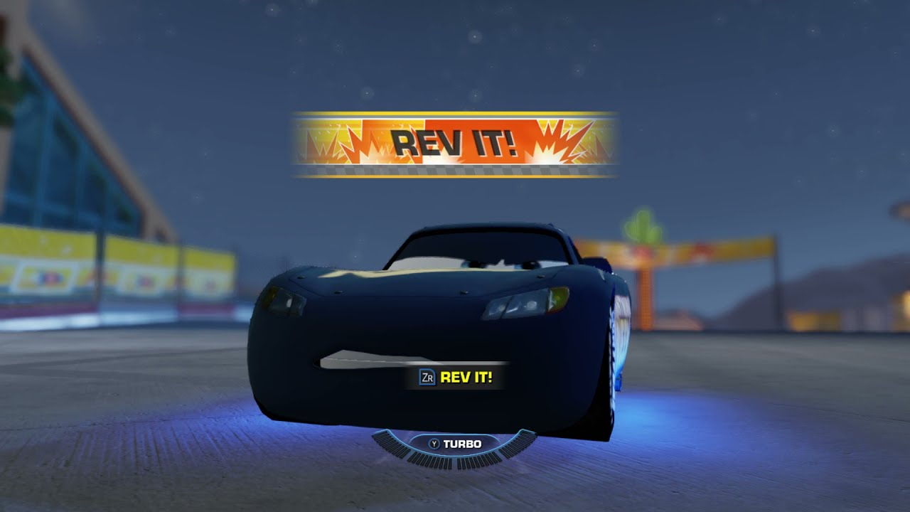 Fabulous Lightning McQueen Looks better than Red Lightning McQueen! Cars 3 Driven to Win