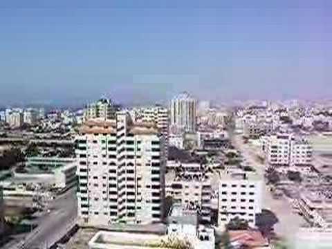 gunfire in gaza city
