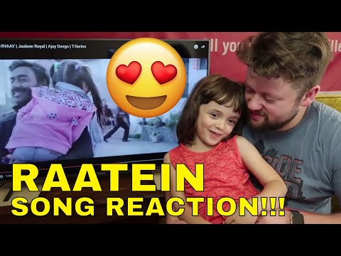 RAATEIN - SHIVAAY Song Reaction!!!