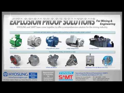Air Motors Electric Motors Explosion Proof.mp4