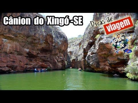 Cânion do Xingó - Passeio de barco pelo Rio São Francisco [Dicas de Viagem BR] Velho Chico