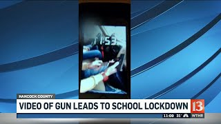 Social media post leads police to gun at school